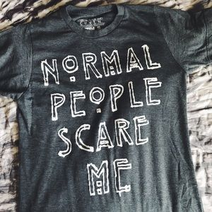 normal people scare me tee //